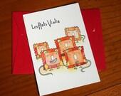 """Carte postales """"les rat-violis"""""""