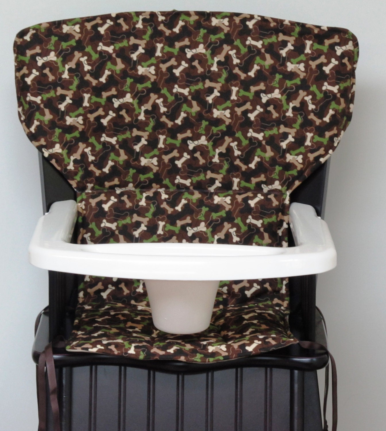 eddie bauer newport wooden high chair cover by