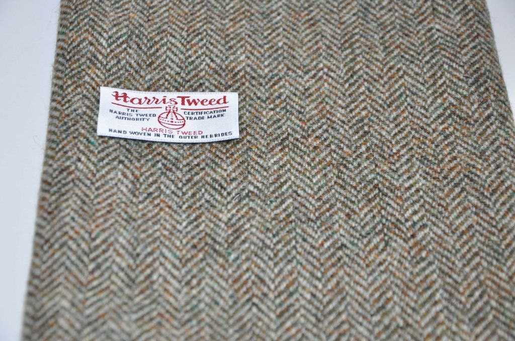 Harris Tweed Fabric Lovat Herringbone
