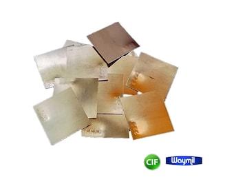 """Silver Solder Sq. Sheet Hard 1450 F Jewelry Making & Repair 0.33 Oz Soldering 1""""X 1"""" WA 914-333-3"""