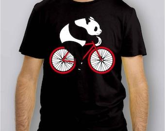 014P - T-Shirt PANDA in BICI