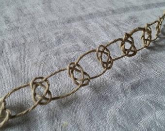 Josephine Knot Bracelet / Anklet - Hemp Jewelry Handmade
