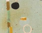 Japanese Fabric ~ nani IRO Fabric ~ Kokka Fabric ~ Sound Circle B ~ Naomi Ito ~  Printed Canvas Fabric ~ Quilt Fabric ~ Home Decor Fabric