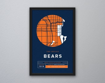 Chicago Bears Print