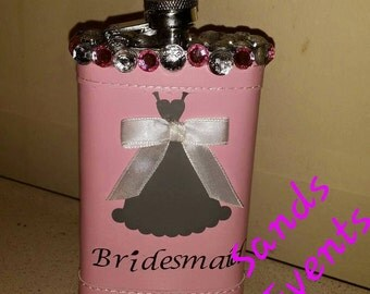 Bridal Party Flask