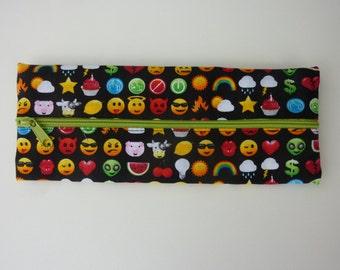 """pencil case """"Emojis"""""""