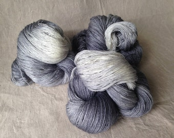 like a rolling stone, lace yarn, Merino, silk