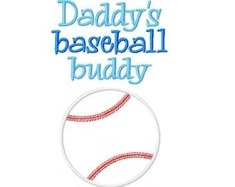Baseball BuddyEmbroidery Design -INSTANT DOWNLOAD-