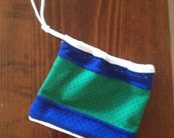 Mini-Drawstring Upcycled Jersey Bag