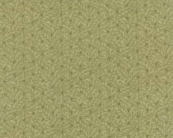 Country Orchard by Blackbird Designs - Ground Cover Light Green - 1/2yd