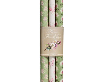 Apple Bloom Adhesive Fabric Sheets - Set of 3