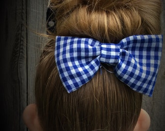 Checkered Bow Tie or Hair Bow