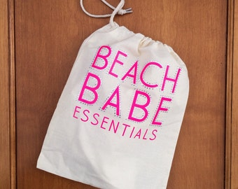 Beach Babe Essentials Mini Cinch Tote