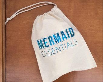 Mermaid Essentials Mini Cinch Tote