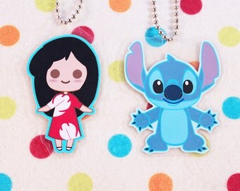 Lilo and Stitch Keychains