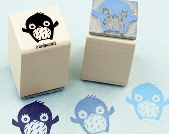 Stamp with Penguin Daan