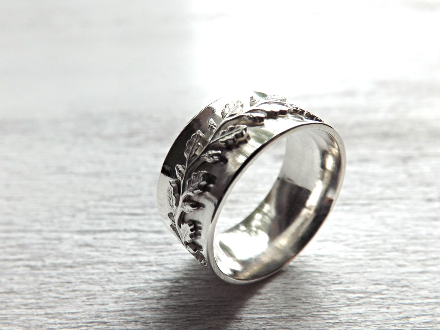 medieval wedding ring silver fairy tale wedding band by ...