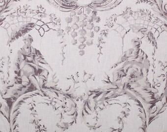 Chivasso Emperor's Garden classic toile fabric per meter Chinoiserie