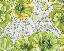 ON SALE - 1/2 Yard - In the Bloom - AVW-15251-218 - Avocado - Valori Wells - Robert Kaufman Fabrics - Fabric Yardage