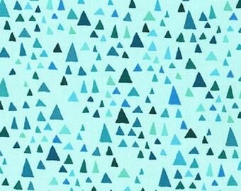 SALE!! 1/2 Yard - In the Bloom - AVW-15253-81 - Turquoise - Valori Wells - Robert Kaufman Fabrics - Fabric Yardage