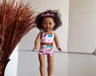 American Girl Doll Clothes Swim Suit