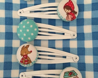 Little Red Riding Hood/ Fairy Tale Hair Clips/Accessories