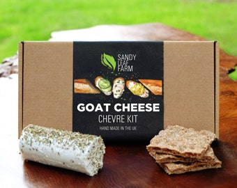 Goat Cheese Kit - Make Your Own Creamy Chevre