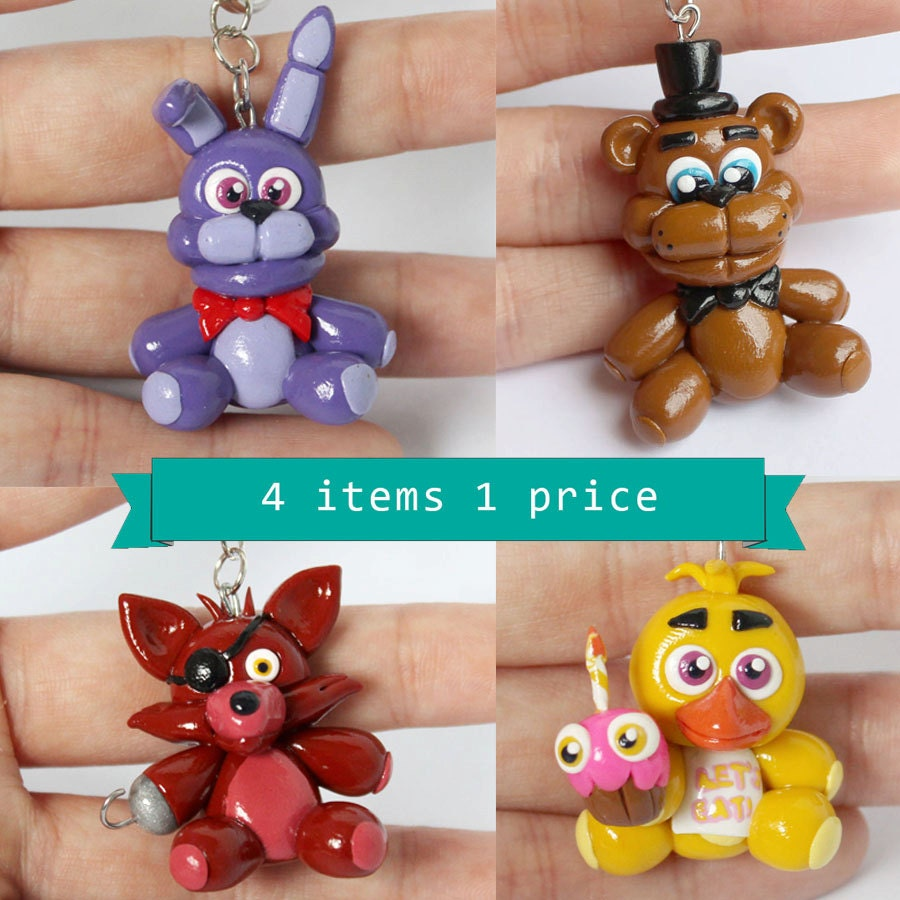 Five nights at freddy s bonnie freddy chica and foxy by artzierush