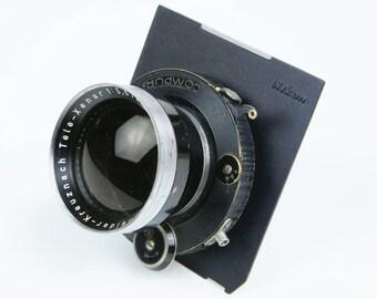 Schneider 270mm f:5.5 Tele-Xenar w/Compur-Professional 4x5 lens