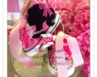 Barbie Bling Converse
