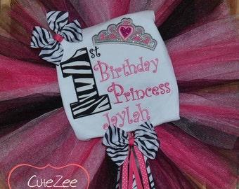 Princess Birthday Tutu/Onepiece/Shirt SET