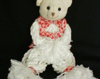 Teddy Bear Mop Head Doll