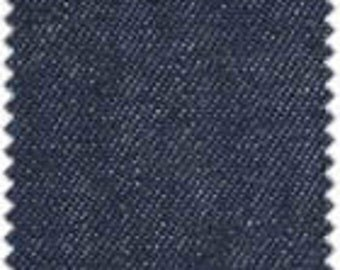 Denim Navy - 100% Cotton 60/66 wide