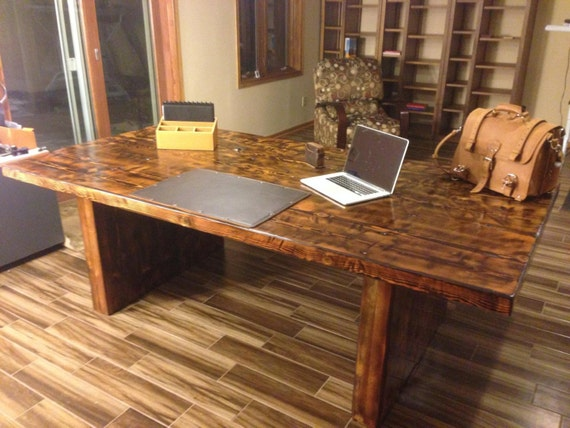 Items similar to reclaimed wood conference table table w all wood