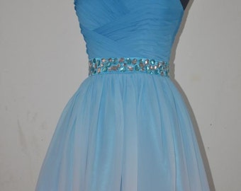 Homecoming Dress, Short Ombre Prom Dress, Short Ombre Homecoming Dress 2015, Short Ombre Evening Dresses, Ombre Bridesmaid Dress,