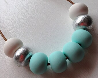 Mint ice necklace