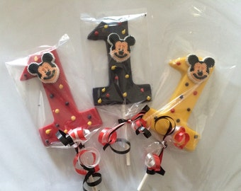 Mickey mouse #1 lollipop