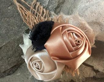 Cusotm Order Bridal Combs, Clips, Sashes