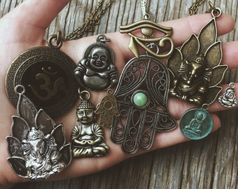 The Pendant Collection - Hippie Boho Bohemian Tumblr Womens Jewelry