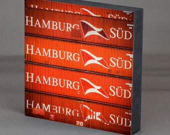 Hamburg on wood - HH-South container