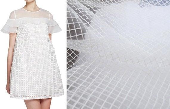 fairiest mesh tulle white dress