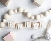 Personalised Baby Building Blocks