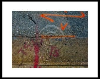 Urban Abstract 2,  Inkjet print   7x9 image on 11x14 archival paper