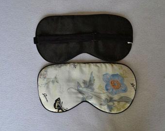 Free shipping 1pc silk eyewear sleep eye mask travel mask sleeping mask big size 2014 new arrival