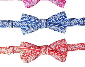 BOYS- Hmong paj ntaub bow tie
