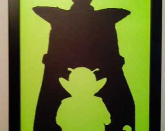 Piccolo Dragon Ball Z wall art
