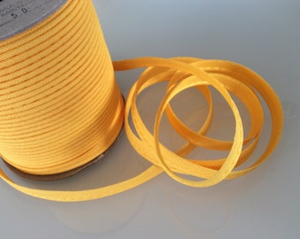 5M Piping Trim Yellow Color Cotton