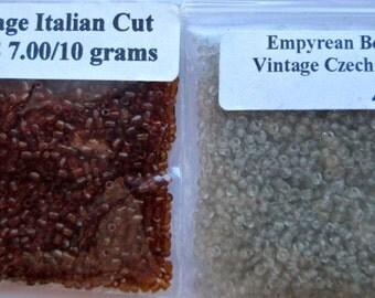 2 Pakages of Vintage Sead Beads