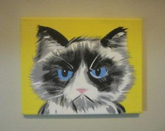 Yellow Grumpy Cat