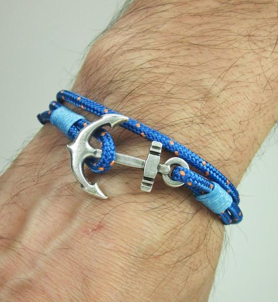 expressversand paracord anker armband herren armband. Black Bedroom Furniture Sets. Home Design Ideas